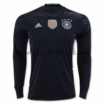 Günstige Fußballtrikots Deutschland Nationalmannschaft 2016 Torwart Heimtrikot Langarm