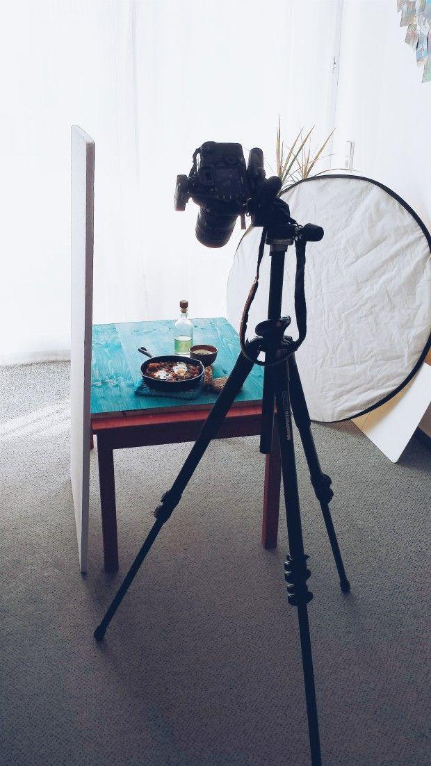 Inspiration on Saturday by @Simone van den Berg my photography set-up!