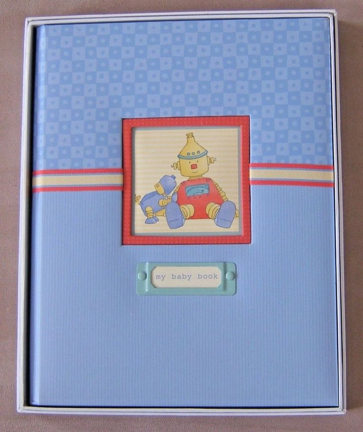 Collection: Baby Bots. Design Artist: Cathy Heck. A wonderful Memory Book to tuck away those precious keepsakes! Type: Memory Book Keepsakes Album. Cover Title: My Baby Book. Record memories and milestones of first 5 years. | eBay!