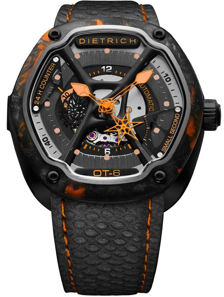 Dietrich Watch OT-6 Carbon Colour Mens