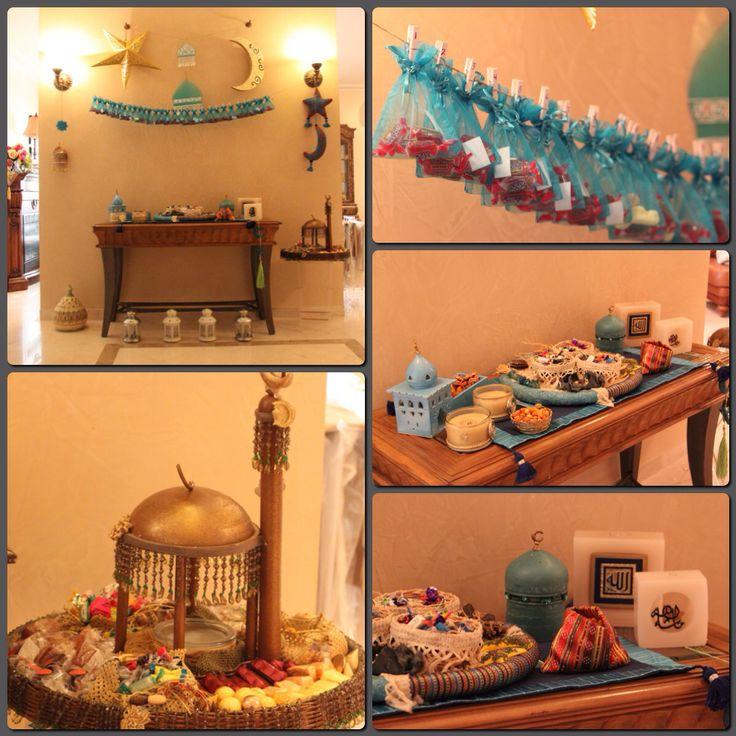 Ramadan decoration. Ramadan Calendar