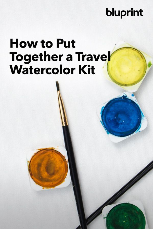 How To Put Together A Travel Watercolor Kit You Ll Love The