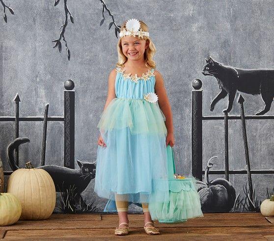 Toddler Mermaid Costume - Blue   Pottery Barn Kids