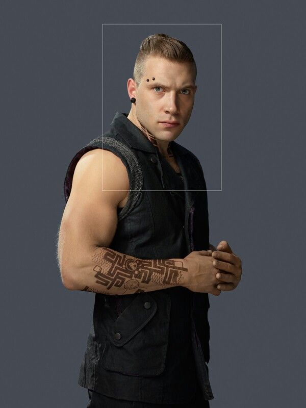 Jai Courtney as Eric | Divergent Series | Insurgent- this would have been a greater pic if that rectangular square looking thing wasn't there.