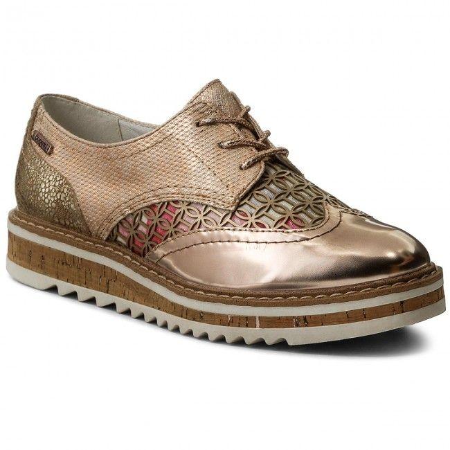 Oxford cipők BUGATTI - V7002-PR6NL-355 Rose Gold