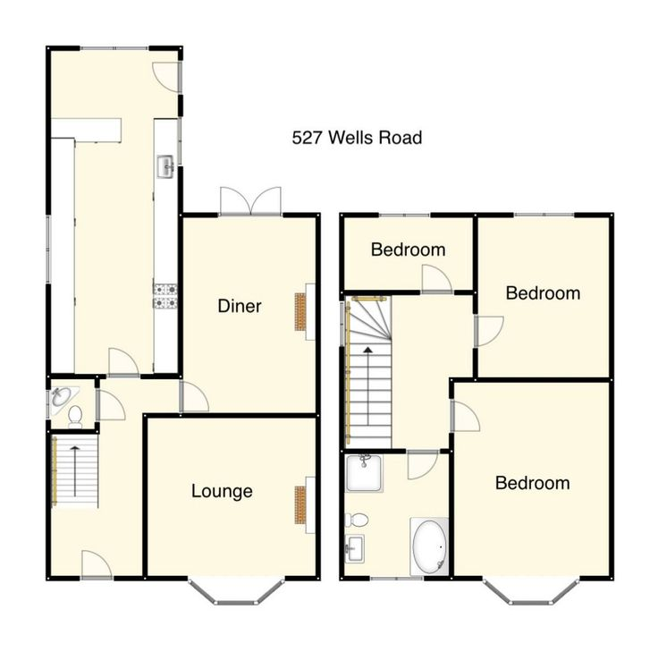 27 best 1930 39 s uk semi detached house images on pinterest for House plans semi detached