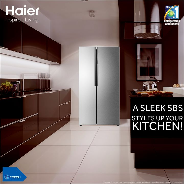 104 best images about haier refrigerator on pinterest side by side refrigerator 4 door. Black Bedroom Furniture Sets. Home Design Ideas