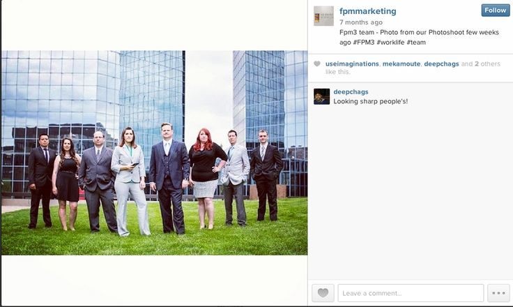 Team photo from our Photo Shoot. #team #FPM3 #workLife