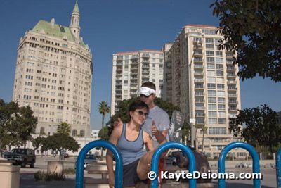 A Traveler's Beach Workout in Long Beach