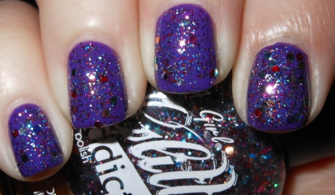 Imperfectly Painted: L.A. Girl Glitter Addict Celebrate