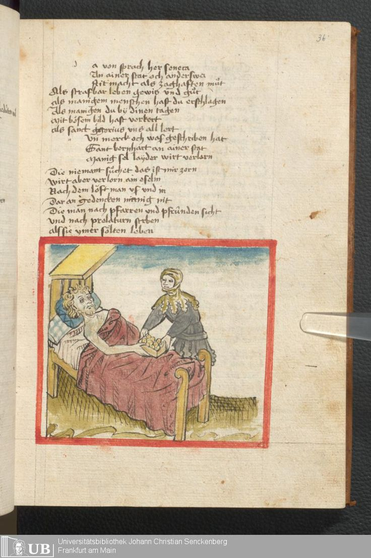 81 [36r] - Ms. germ. qu. 6 - Der Renner - Page - Mittelalterliche Handschriften - Digitale Sammlungen Schwaben, [1446; um 1450]