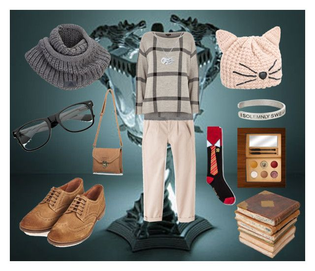 """""""geekish"""" by amelie-frojd on Polyvore featuring Current/Elliott, River Island, Barbour, adidas, Karl Lagerfeld, ZeroUV, Edge Only, Warner Bros. and Ceramiche Pugi"""
