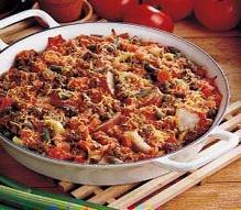 Delicious Beef Casserole - Great recipe  diabetic friendly.