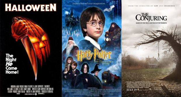 It's the Halloween month and this means... Halloween movie marathon! #movies #halloween #moviemarathon #thelazyfactory #horror #theconjuring #harrypotter