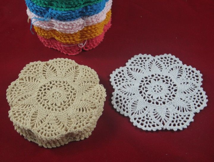 free vintage crochet doily patterns - Google Search