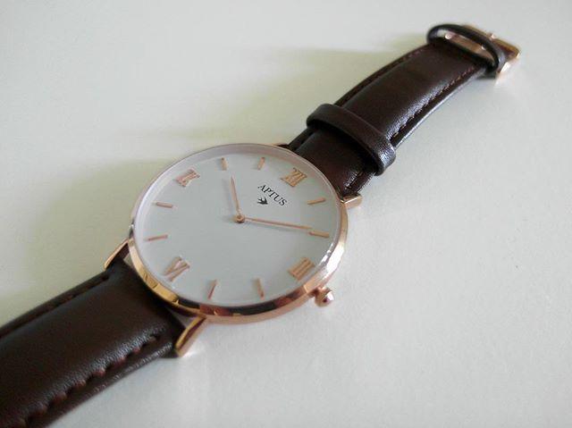 Aptus-klockorna är noggrant designade in i minsta detalj.