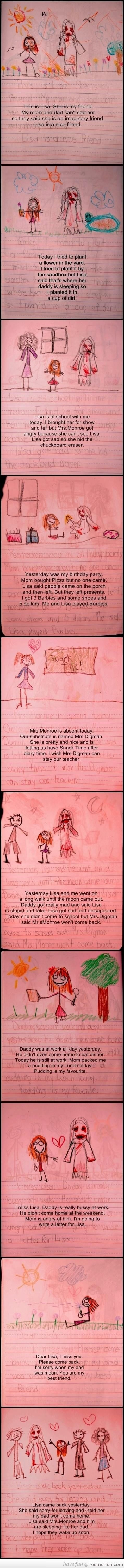 Awesome! Creepiest. Diary. EVER!!!