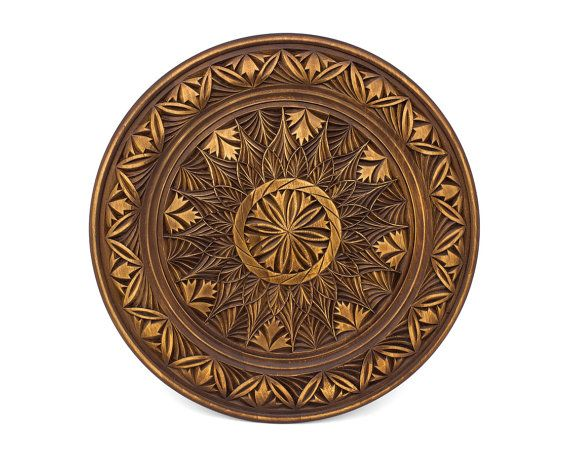 Wall art, Wall decoration, Round wall panel, Wall panel, Wooden wall panel, Wood wall panel, Form of plate, Handmade wall panel  This is a hand carved wooden wall panel. It can be a beautiful and bright decoration of interior.  This is a good chance to buy a great handmade item at a good price!  Size:  Diameter (Orange color) - 15.74 inch (40 cm)  Dont miss this amusing item! Buy it now! If you have any questions, please dont hesitate to ask!  There are other wooden panels with other sizes…