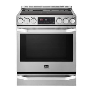 Double Oven Range With Warming Drawer