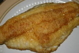 Recipe for Easy Baked Flounder in Sour Cream Sauce