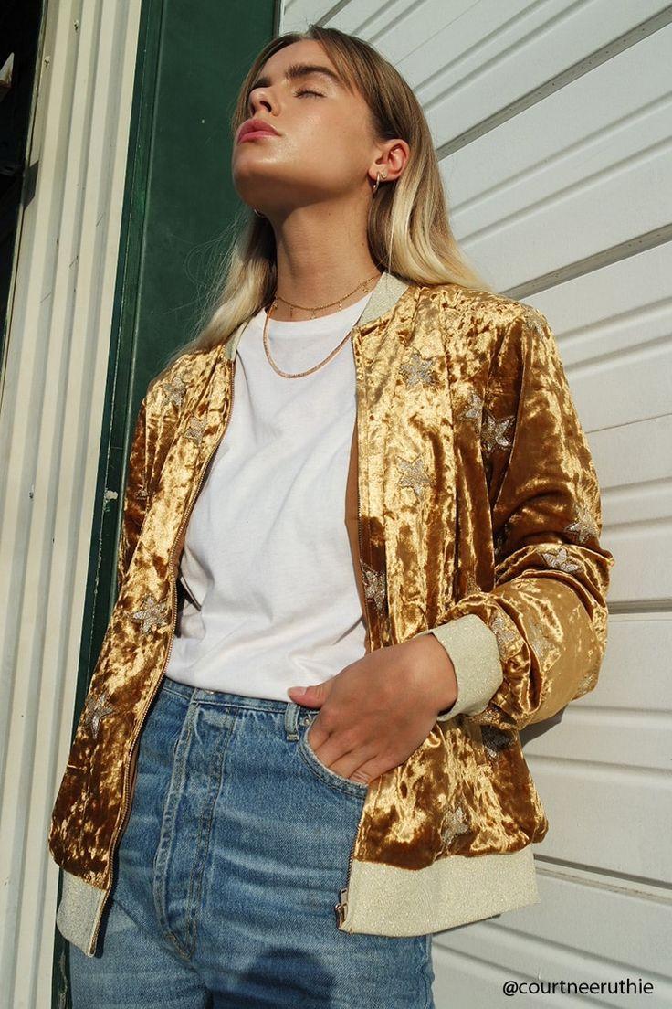 Fluwelen Jasje - Contemporary Velvet jacket forever21