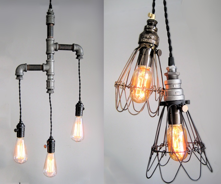 Vintage Upcycled Lighting