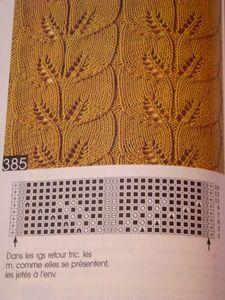 DSC07407 knitting stitch + chart