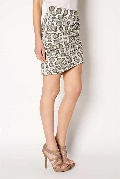 Twist Jersey Skirt. #witcherywishlist