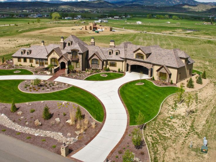 Luxury European House Plan Aerial View | Plan 101S-0026 | House Plans and More