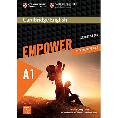 Cambridge English Empower A1: Student's Book (print) + assessment package, personalised practice, online workbook & online teacher support. Für Erwachsenenbildung