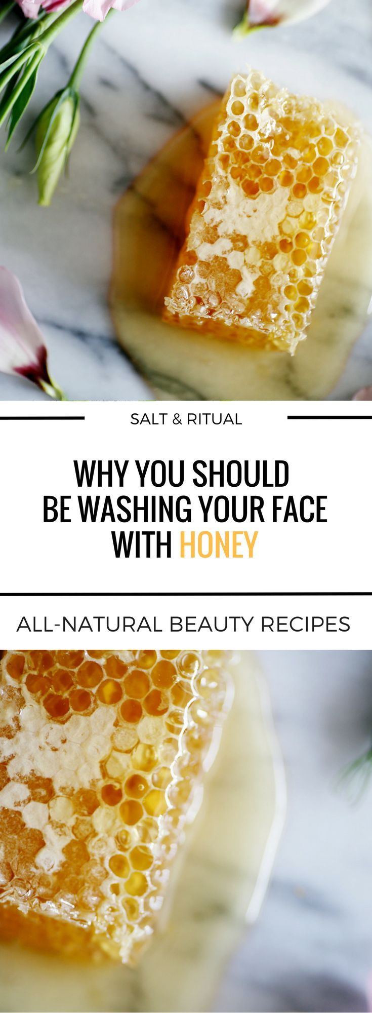 I'm all about the purest, most natural skincare products I can get my hands on.  That's why I've been using organic raw honey to wash my face for the last eight years.  It's the best and I don't think I could ever go back to using any kind of soap on my face or some fancy face-wash with tons of promises that never seem to come true.