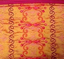 BERNINA 830 – Zippered Pouch – Stitch Combinations