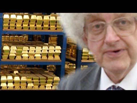 30兆円分の「金塊」どのくらいかわかる?→イングランド銀行に貯蔵された純金 : らばQ