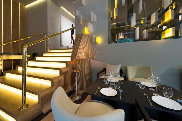 Galería de fotos del Restaurante OTTO Madrid_stairs