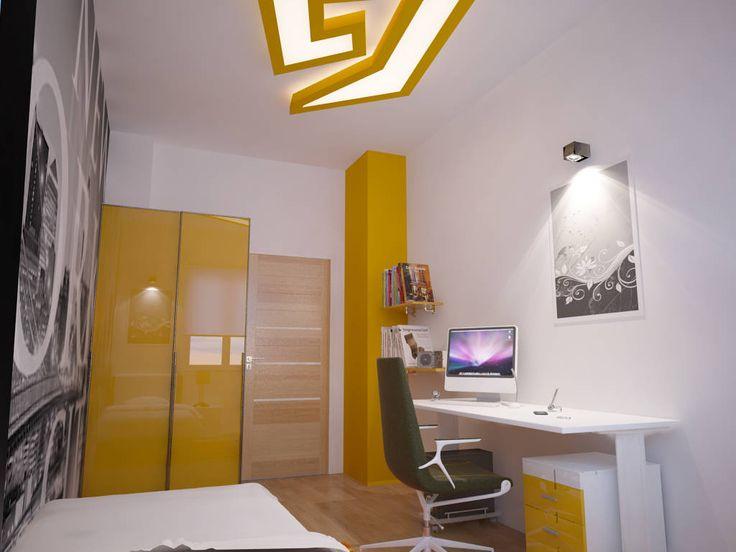İNDEKSA ÖRNEK DAİRE ÇALIŞMASI : Modern Çocuk Odası İNDEKSA Mimarlık İç Mimarlık İnşaat Taahüt Ltd.Şti.