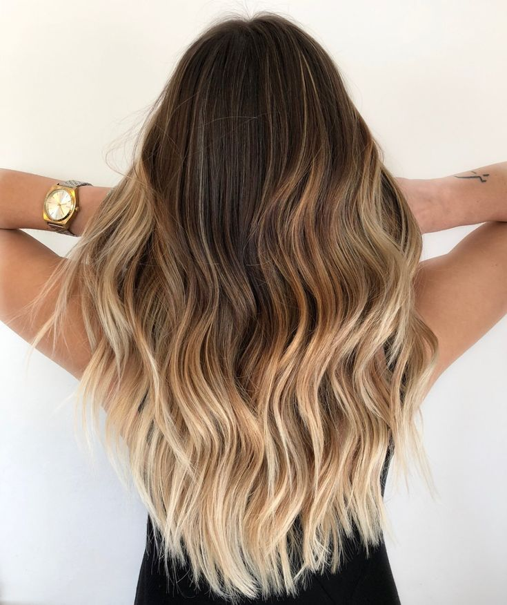 20 On Trend Brown To Blonde Balayage Looks That Will Make You Jealous Ombre Hair Blonde Brown To Blonde Balayage Balayage Long Hair