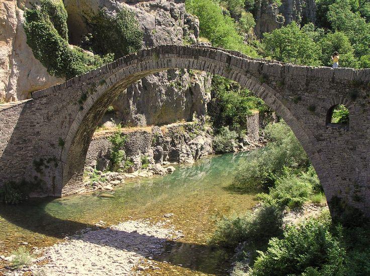 De Kokoris-brug in Zagori