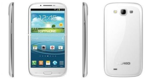 "SMARTPHONE S3 GPS WIFI PAD N9330 5.5"" NOTE II 2 CORE UMTS DUAL SIM ANDROID 4 3G"