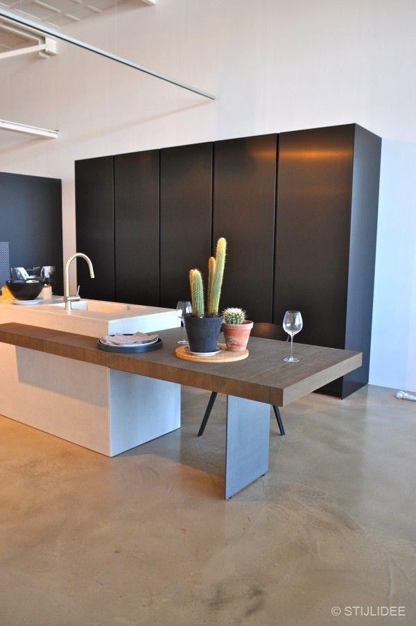 De nieuwste droomkeukens met kookeilanden om van te smullen bij Loods 5 via www.stijlidee.nl