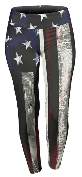 Discover American Flag Comfort Stretch Leggings T-Shirt from Patriotic Best Sellers, a custom product made just for you by Teespring. With world-class production and customer support, your satisfaction is guaranteed. - These exclusive American Flag leggings are only...