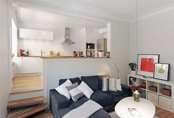 Living big in a tiny studio apartment – inspiring interior design ideas - Home Decorating Trends