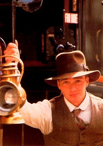 Henry Jones Jr. (The Young Indiana Jones Chronicles). I know I'm a dork because this was kind of an educational show, but I have the biggest crush on Indiana jones