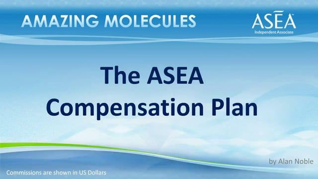 Excited to announce the totally redesigned ASEA Compensation Plan! 11 min overview. Join our grassroots movement, change lives! http://sharingnaturesbest.teamasea.com
