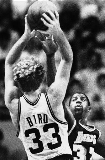 Larry Bird vs. Magic Johnson...once upon a time....