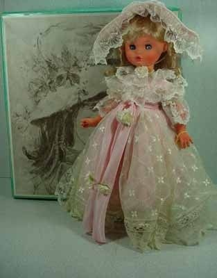 "Original Mint in Box 18"" Silvana Furga Doll from Italy, 1960's!"