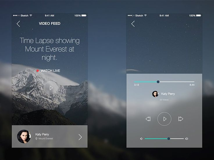 Video Stream App for iOS