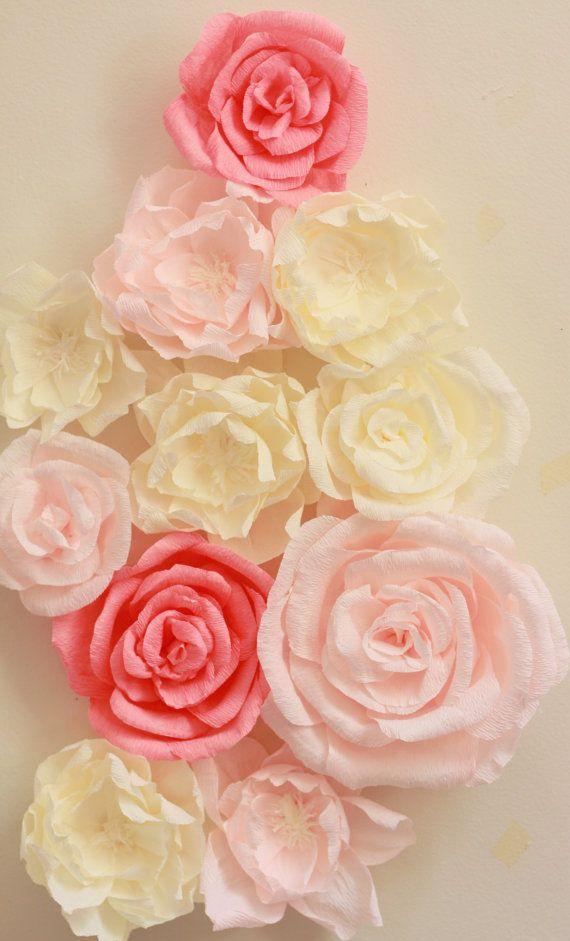 245 best Crepe paper flowers images on Pinterest | Birthdays, Diy ...