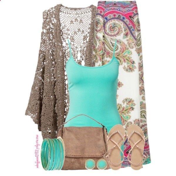 Maxi Skirt for Spring 2