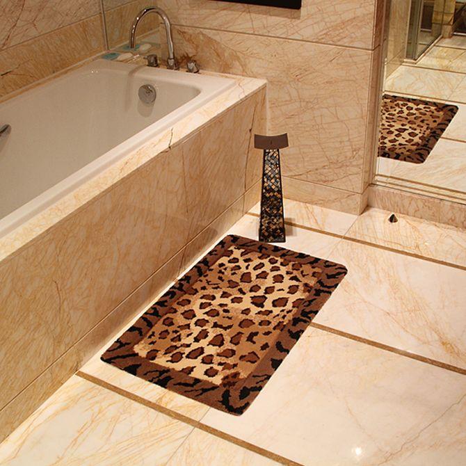 Leopard Badezimmer Teppiche Teppich Dekoideen Mobelideen