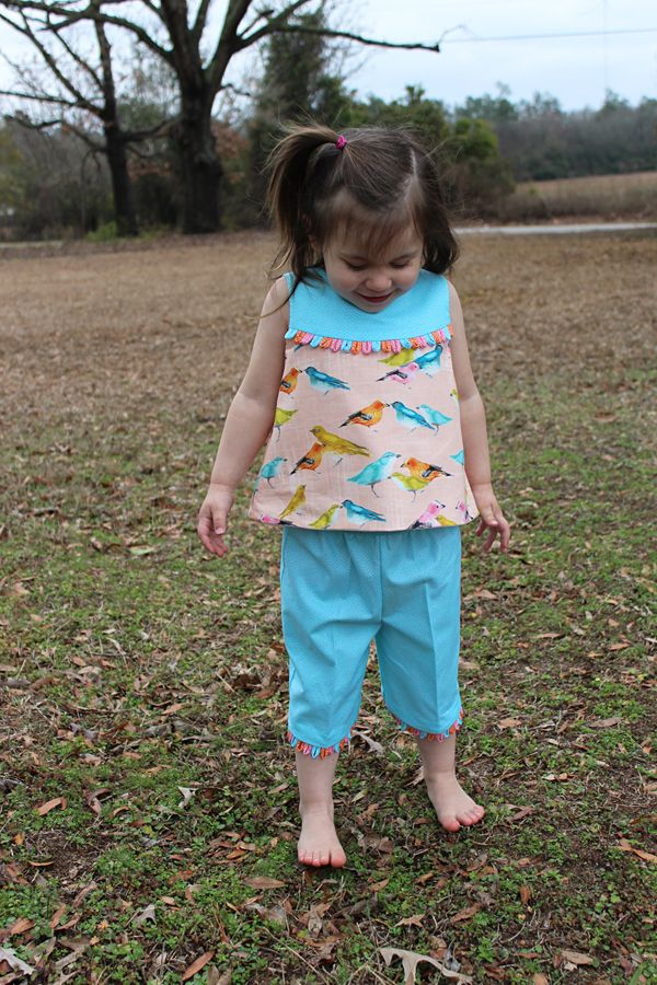 'Let's Go To The Zoo' Pattern 'Madison' Bonnie Blue Designs (2.24.15)